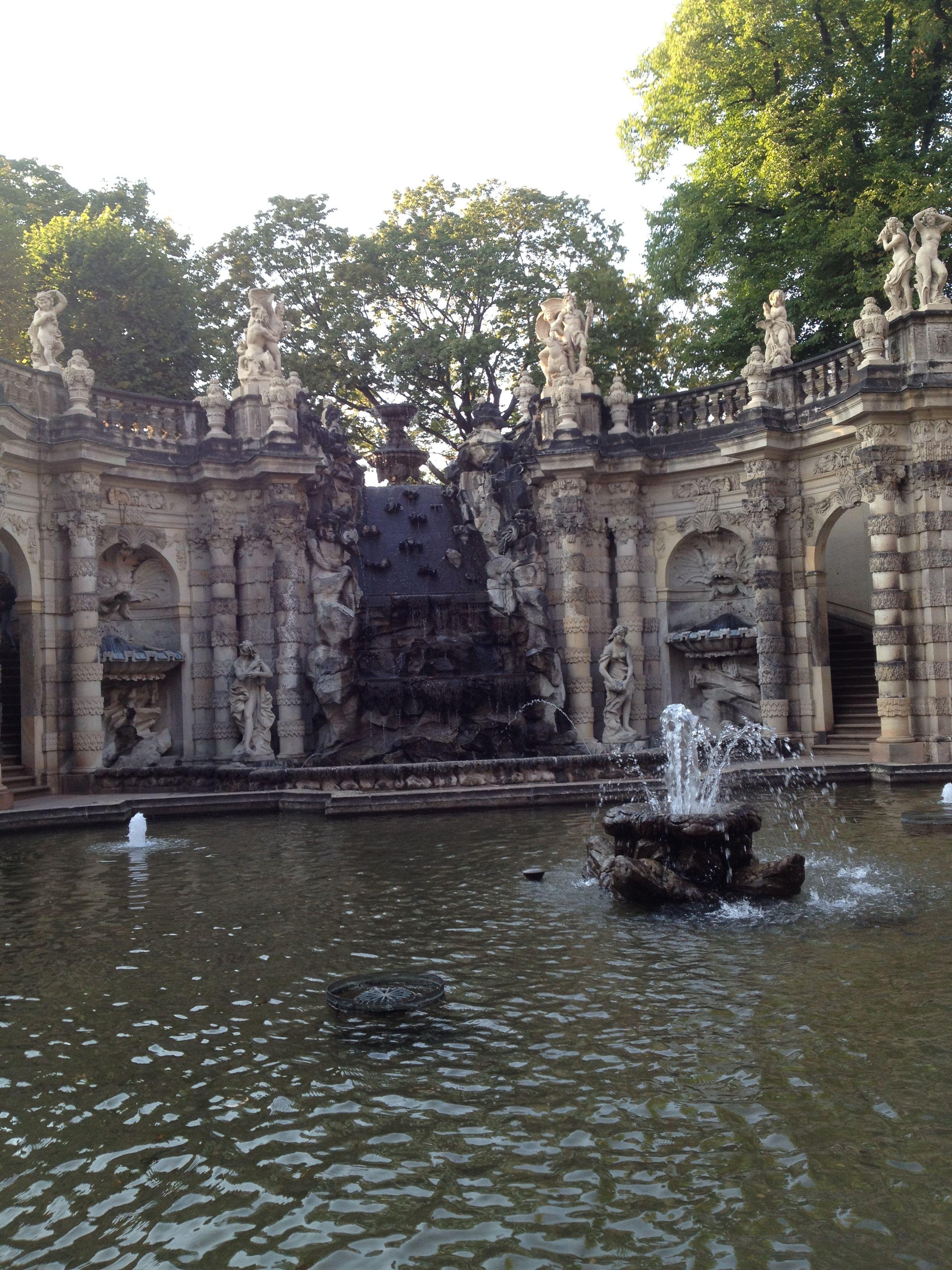 Nymphenbad Im Dresdner Zwinger Dresdner Zwinger Zwinger Dresden Dresden