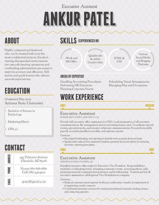 1000+ images about Resume Layout Ideas! on Pinterest