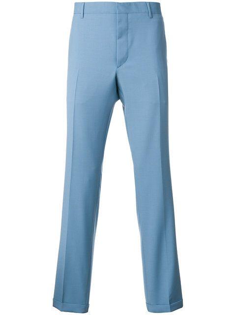 PRADA straight leg trousers. #prada #cloth #