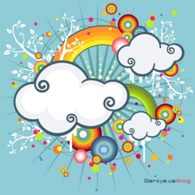 Colorful Illustration Free Vector Illustration Illustrator Tutorials Cloud Illustration