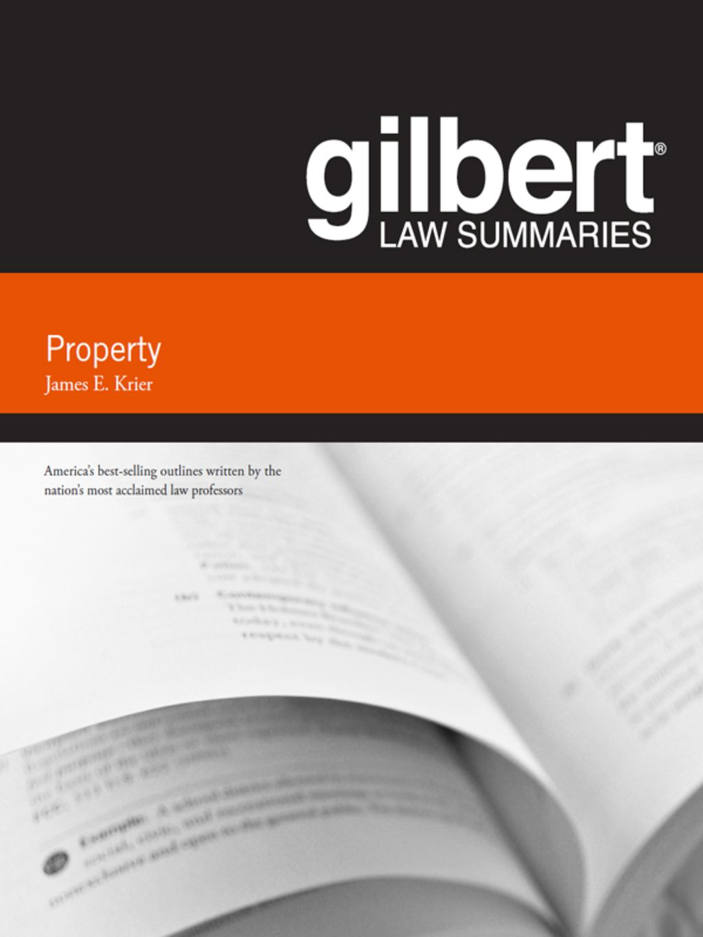 Krier S Gilbert Law Summary On Property 18th Ebook Writing