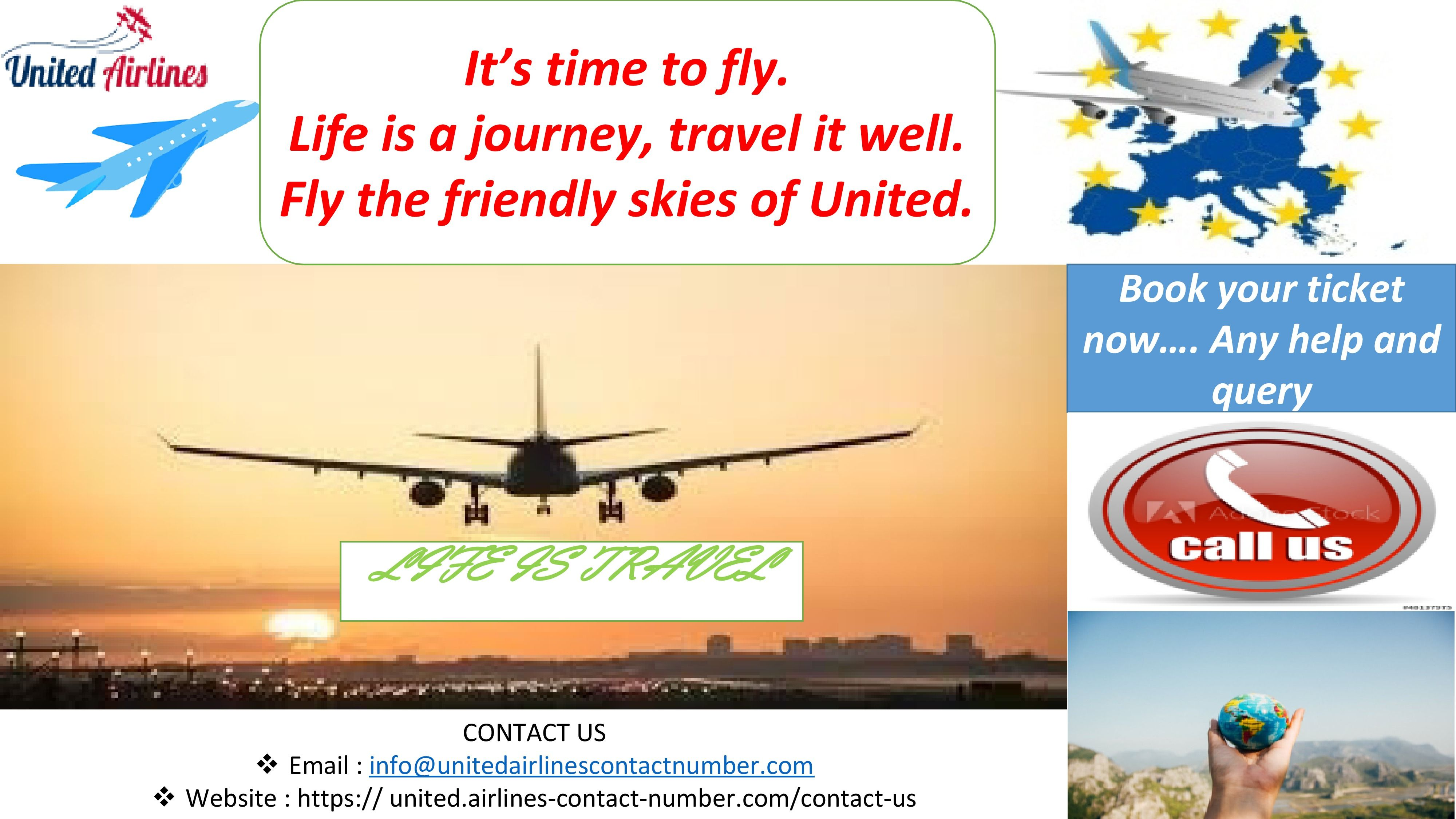 It is must to have the United Airlines contact Number, if