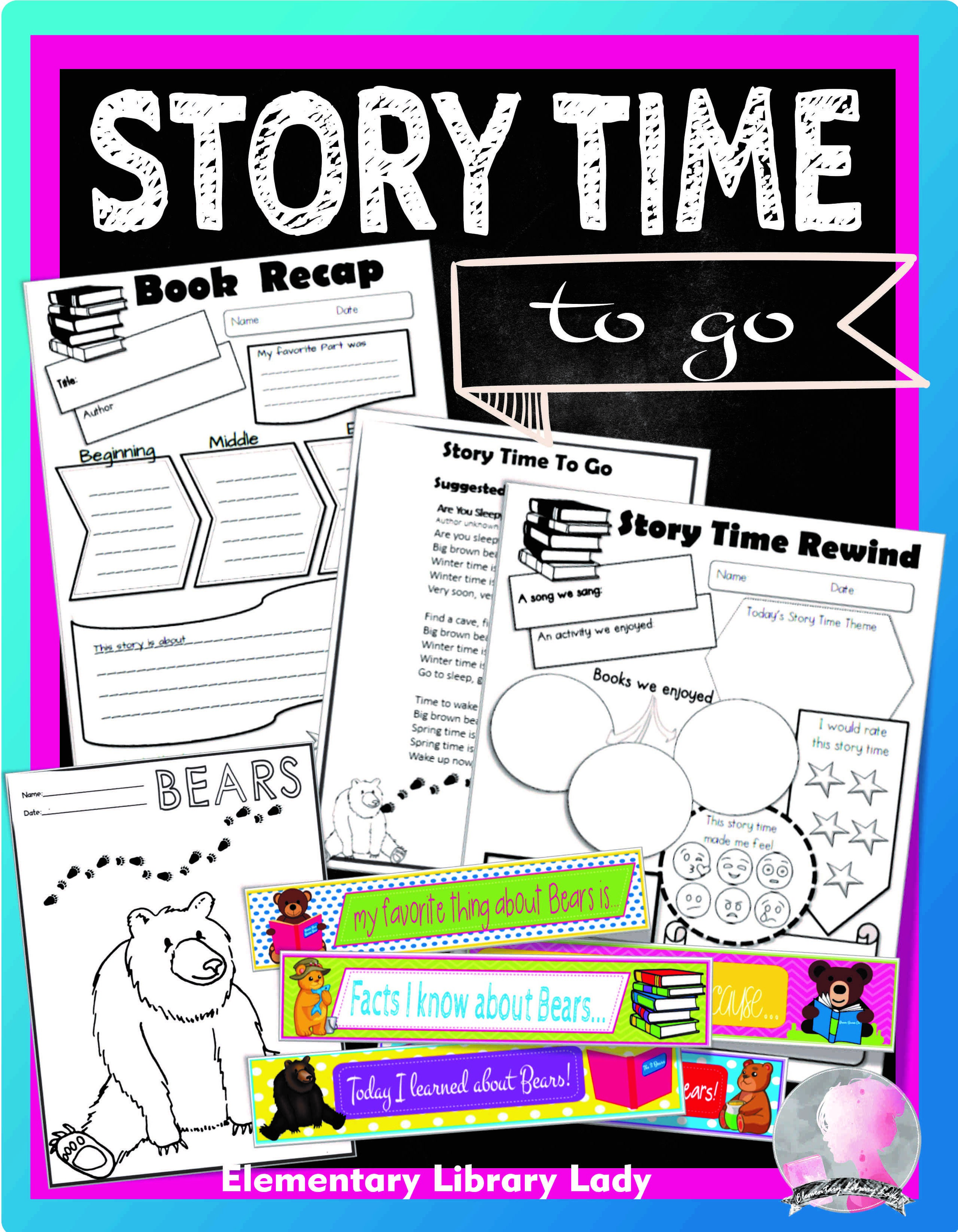 Storytime Activities Story Time To Go