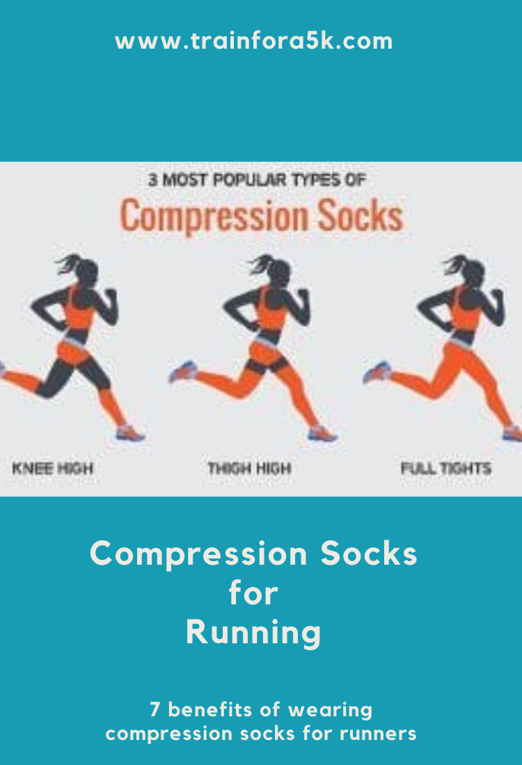 The 7 Benefits Of Running Compression Socks Train For A 5k Com Compression Socks Benefits Of Running Running