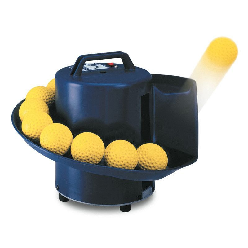 The JUGS Toss™ Machine automatically tosses a ball every 5 seconds. Get hundreds of swings in less than half an hour. The Toss™ Machine is generally used by Pitching Machine Leagues, Youth Leagues, Hi
