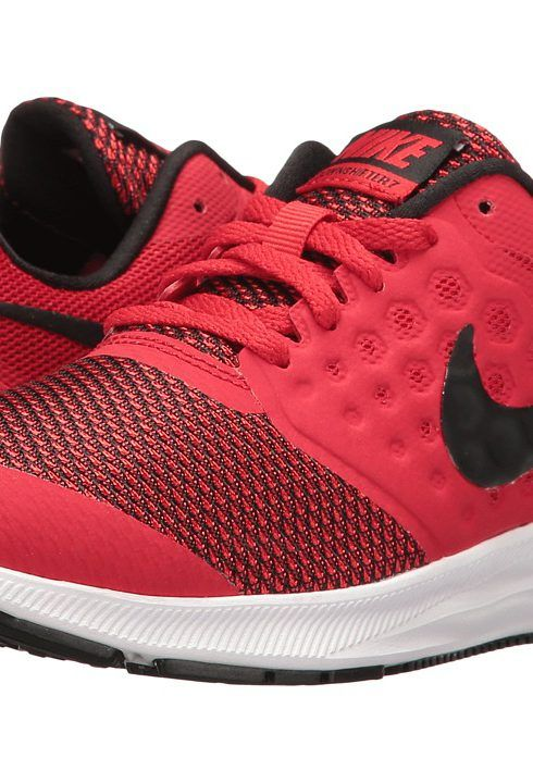 Nike Kids Downshifter 7 (Big Kid) (University Red/Black/White)