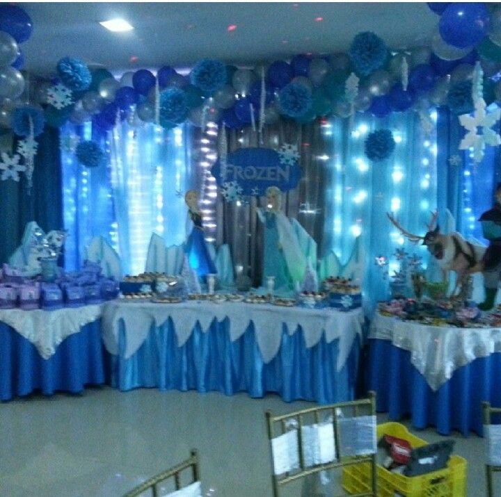 Decoraci n frozen party pinterest decoracion frozen for Decoracion de cuartos para ninas frozen