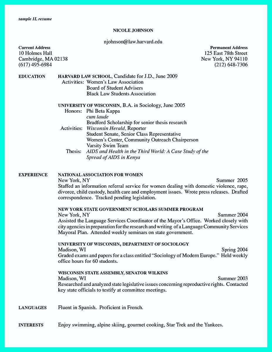 cool The Perfect College Resume Template to Get a Job, | resume ...