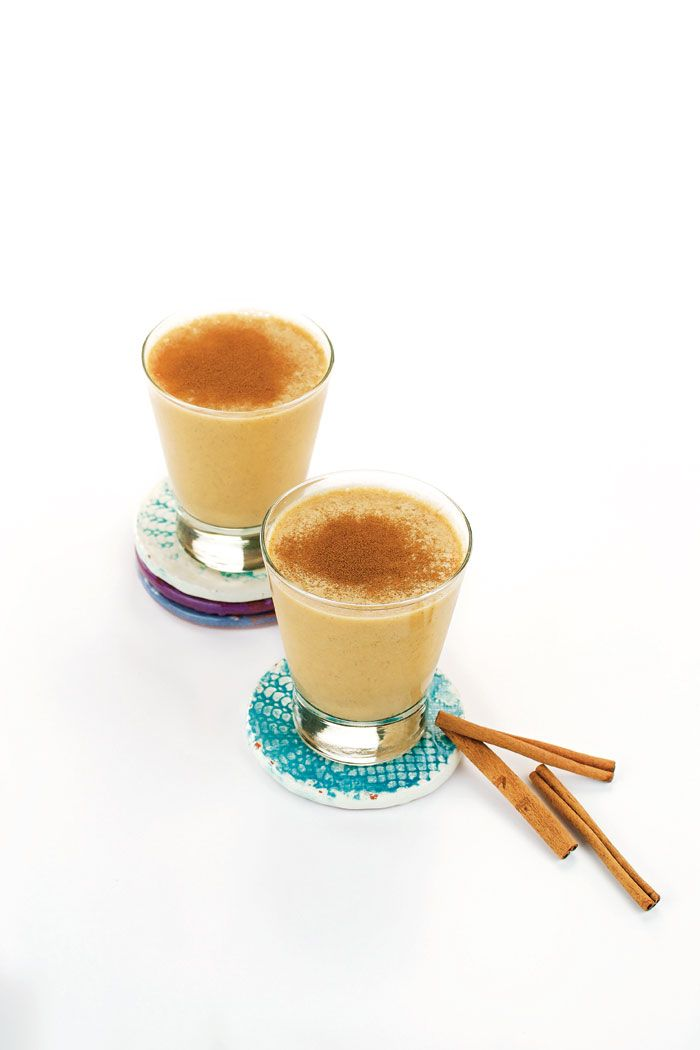 Sweet Potato Latte from The Easy Vegan Cookbook (photo by Ann Oliverio)
