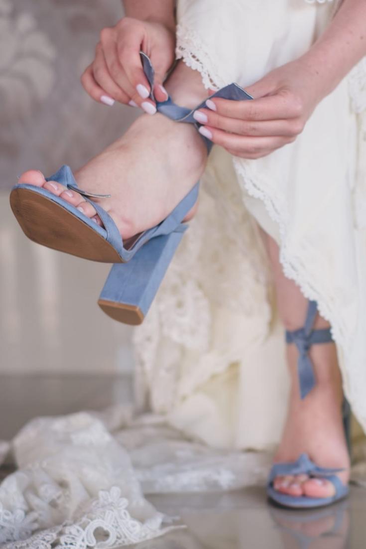 Dicionário de sapatos para as noivas