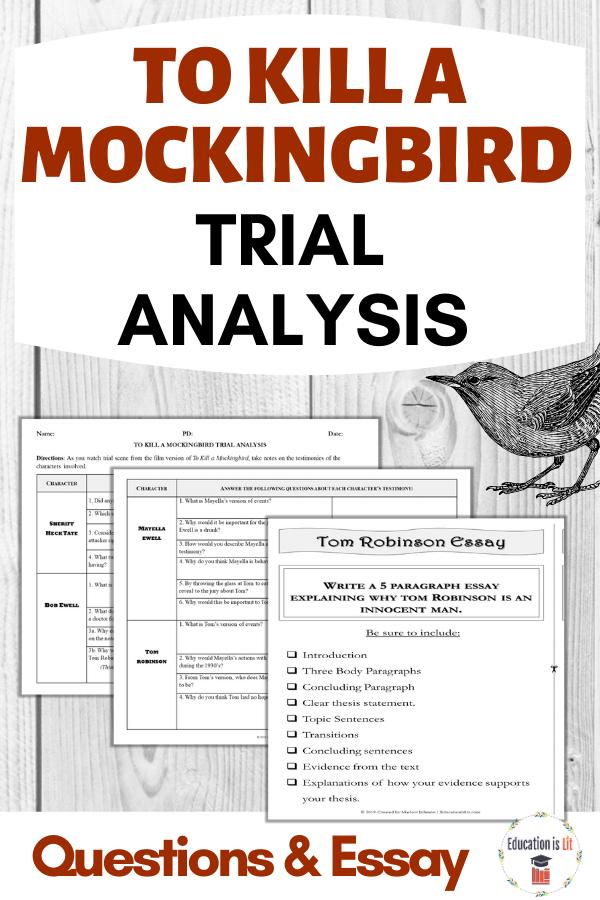 To Kill A Mockingbird Trial Analysis And Essay Education Is Lit Argumentative Essay To Kill A Mockingbird Essay