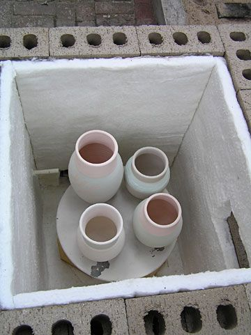 how to build a small kiln for pottery