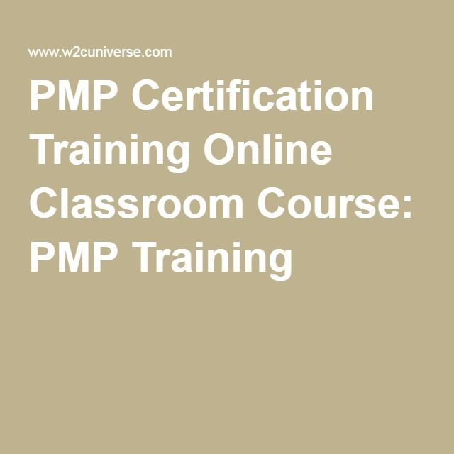 Pmp Certification Training Online Classroom Course Pmp Training