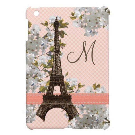 iPad Mini #iPadminicases #eiffeltower #Paris Also visit http://www.zazzle.com/godsblossom