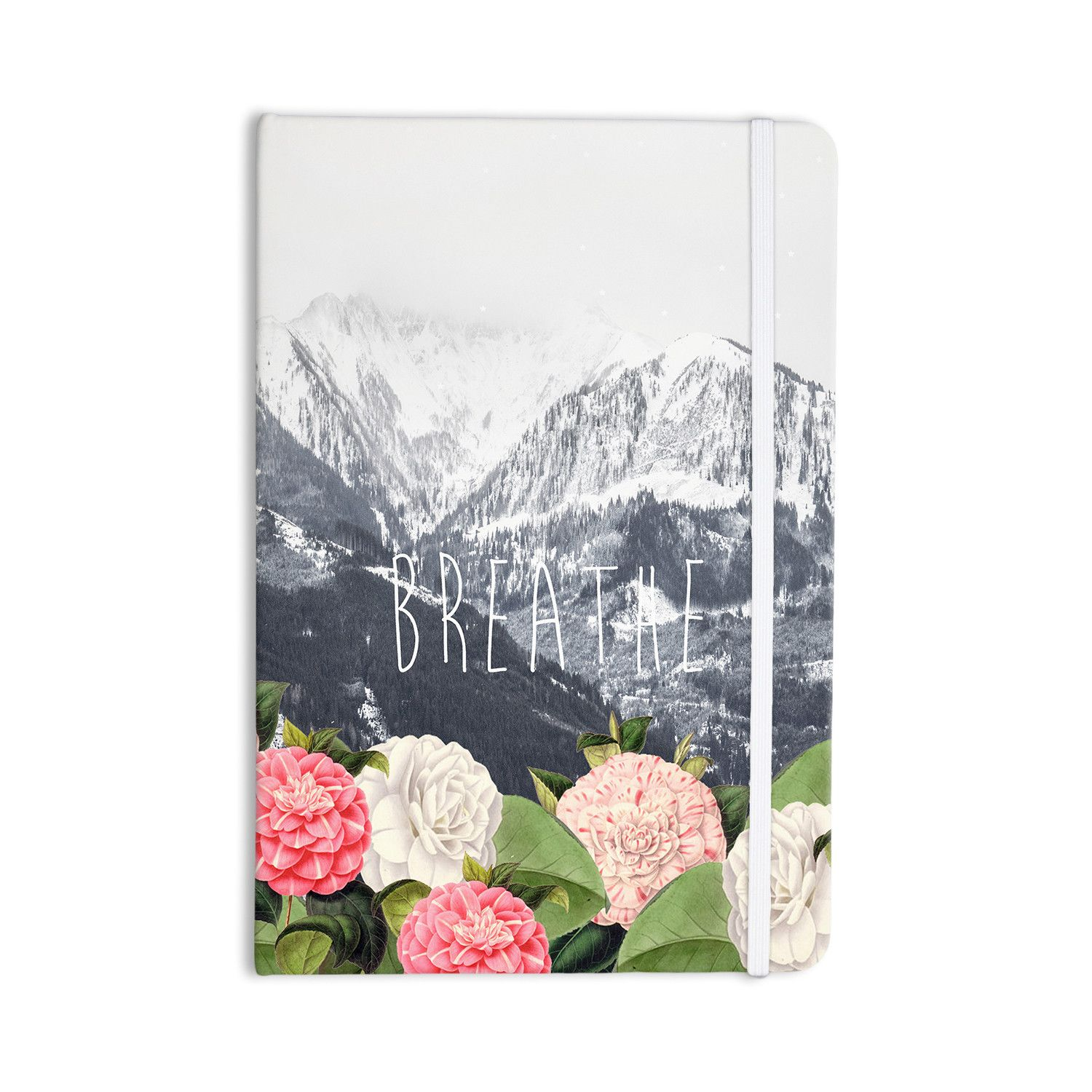 "Suzanne Carter ""Breathe"" Floral Landscape Everything Notebook"