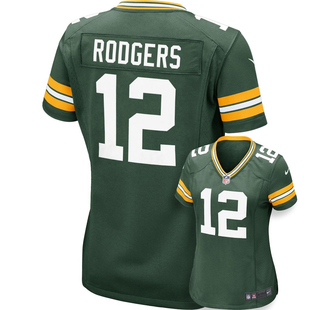 Women S Nike Green Bay Packers Aaron Rodgers Jersey In 2020 Aaron Rodgers Jersey Green Bay Packers Aaron Rodgers Green Bay Packers