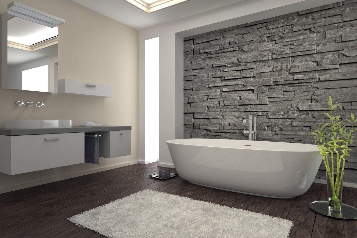 Badkamer zonder tegels moderne badkamer met zwarte tegels en