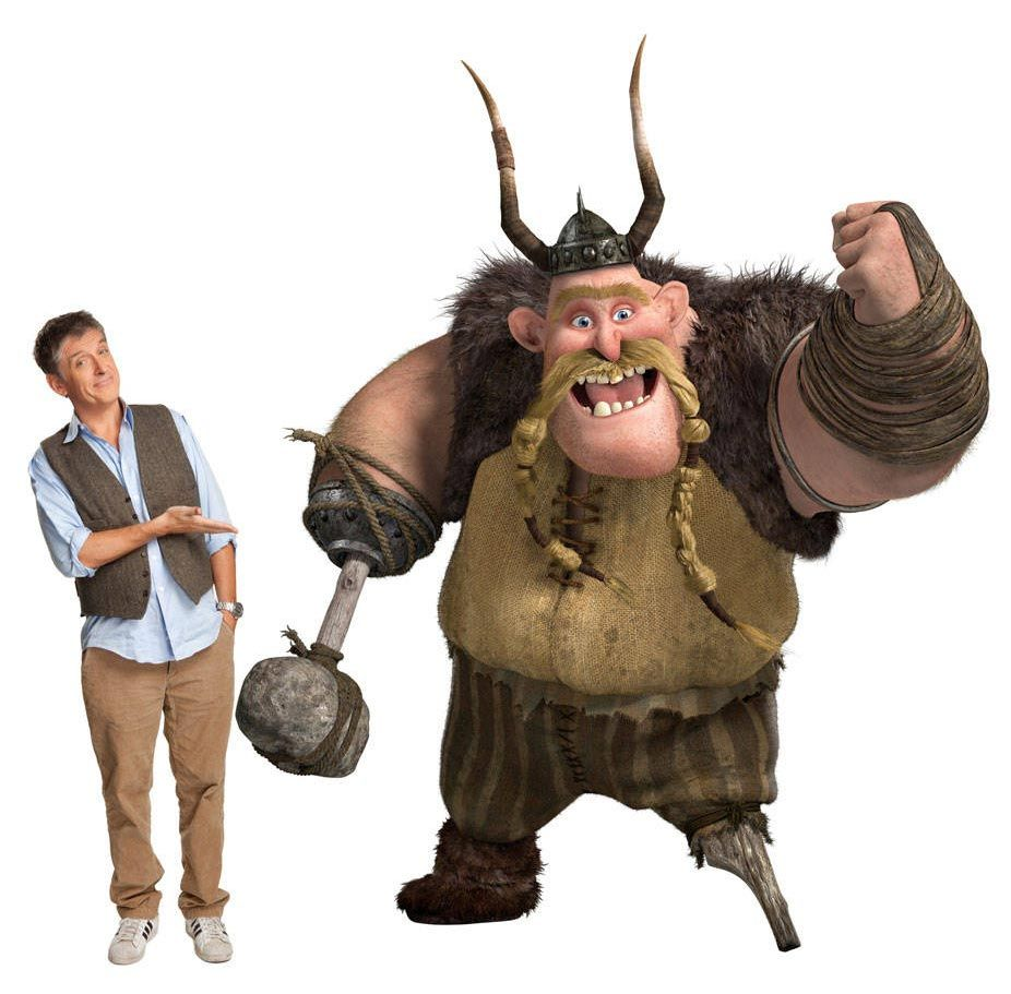 How To Train Your Dragon 2010 Starring The Voice Talents Of Craig Ferguson As Gobber The How Train Your Dragon How To Train Dragon How To Train Your Dragon
