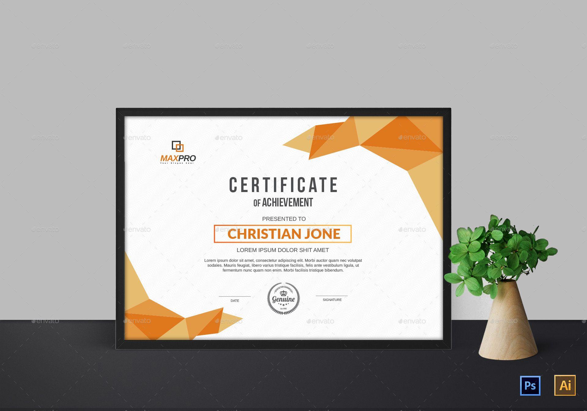 Certificate #Certificate | design font | Certificate templates