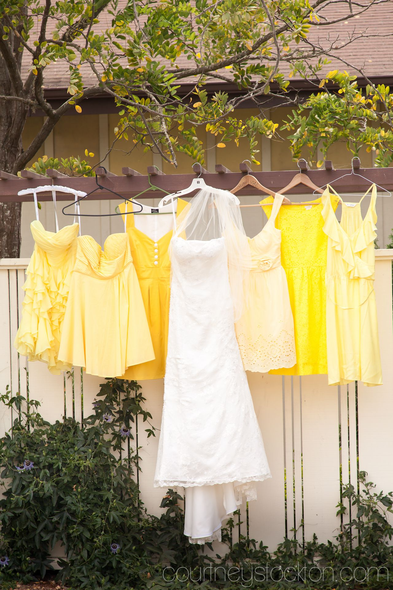 Wedding decorations yellow and gray  Yellow yellow wedding bridalparty bridesmaids  lover of the