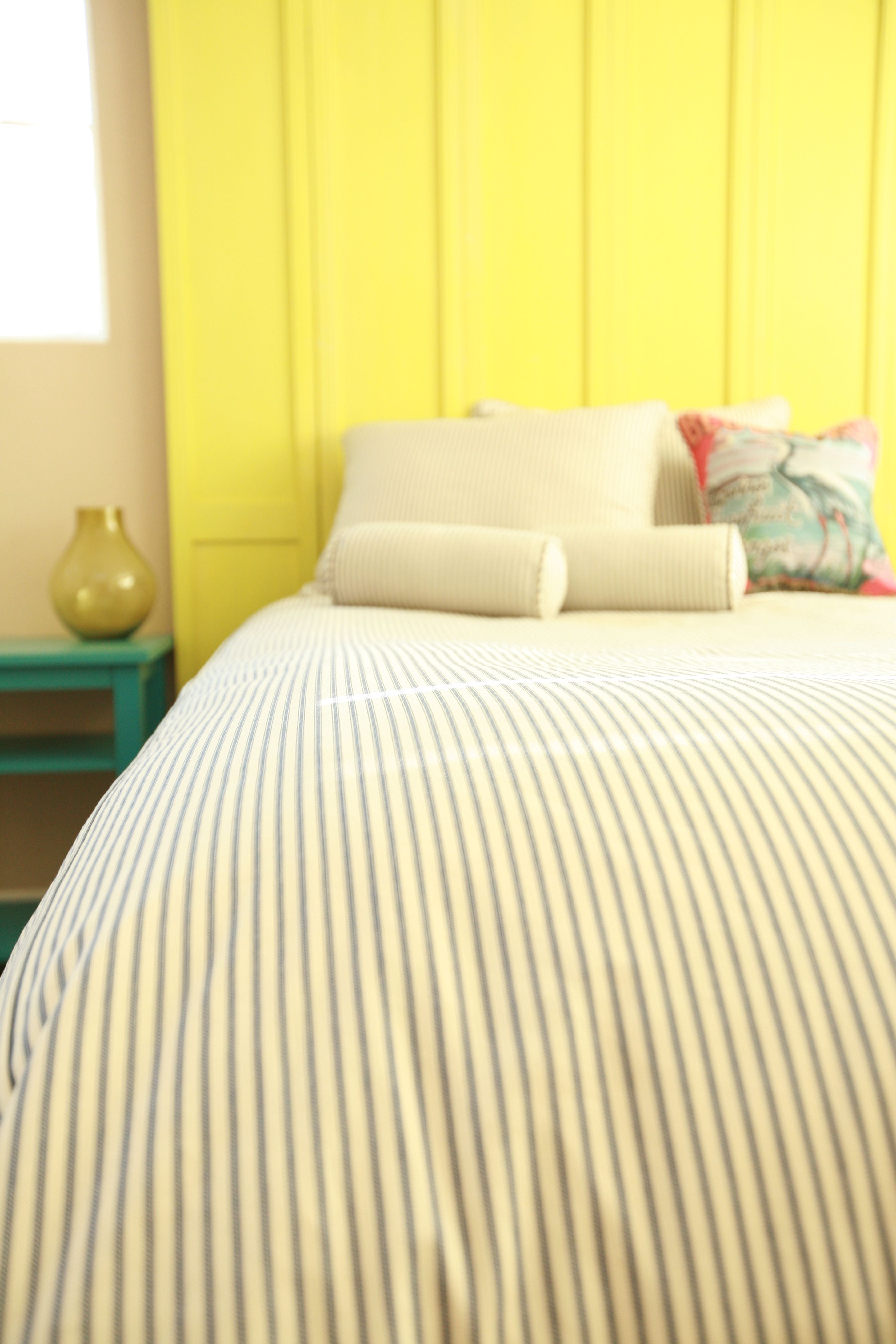 fern cover the ticking collections print green collection woollen home mills foxford stripe french duvet
