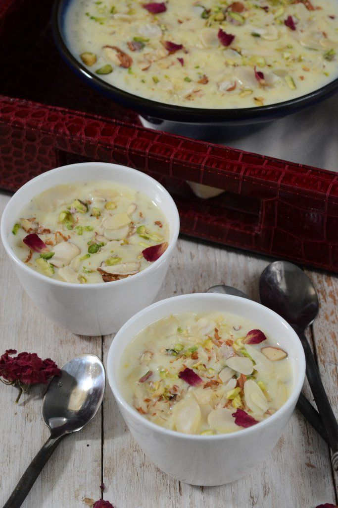 Chawal Ki Kheer is a milk based sweet and this rich, creamy dish is the perfect way to finish the meal. The ingredients are usually available in most kitchens.