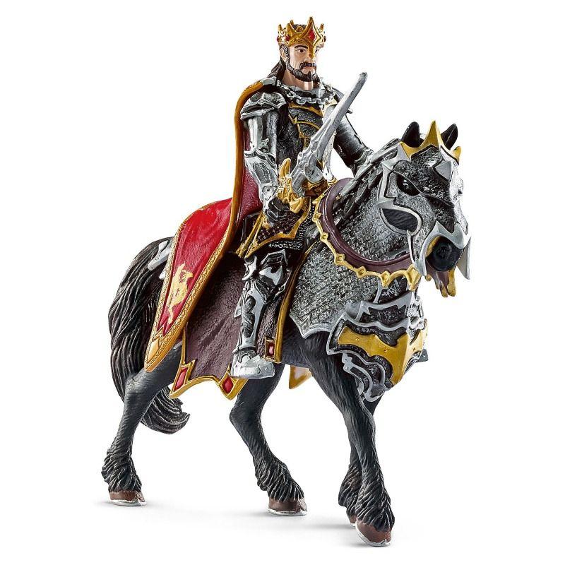 Günstig Online Entdecken Ritter 70115 Drachenritter König Zu Pferd