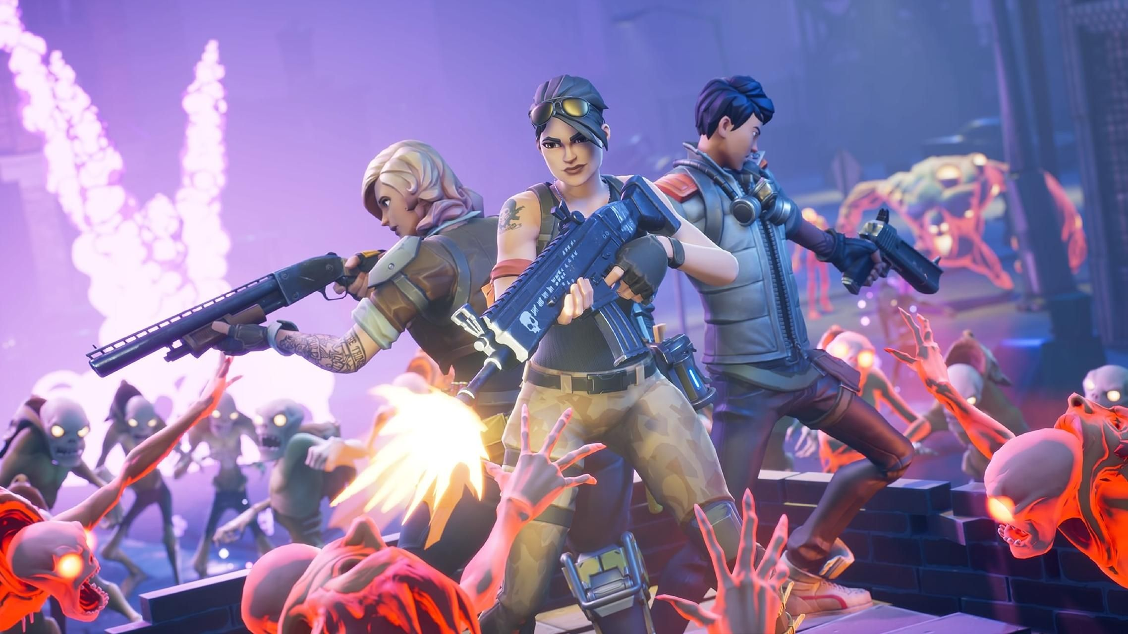 Download Fortnite Squad Wallpaper By Decoderx Gaming 08 Free