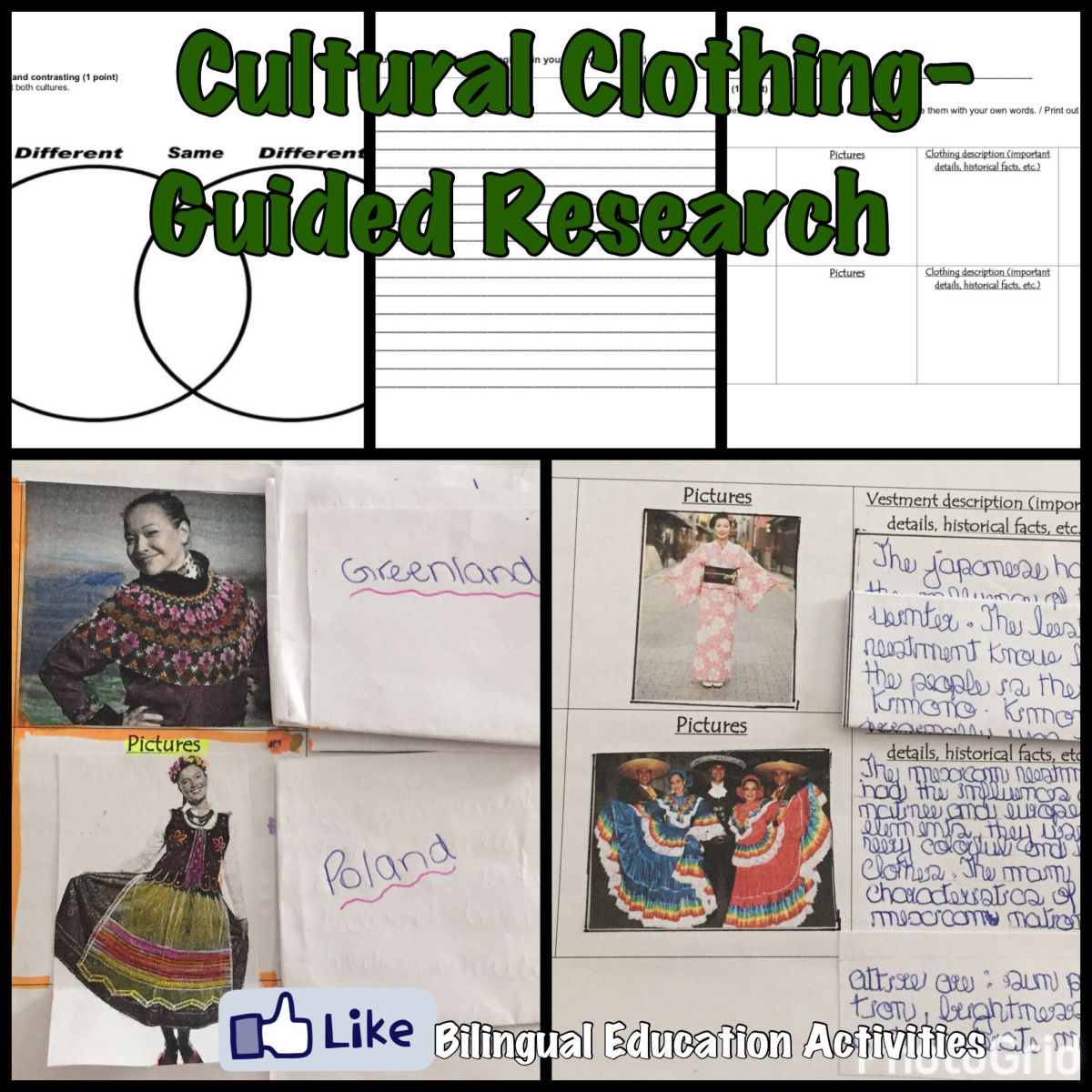 Cultural Clothing All Over The World Research Guide