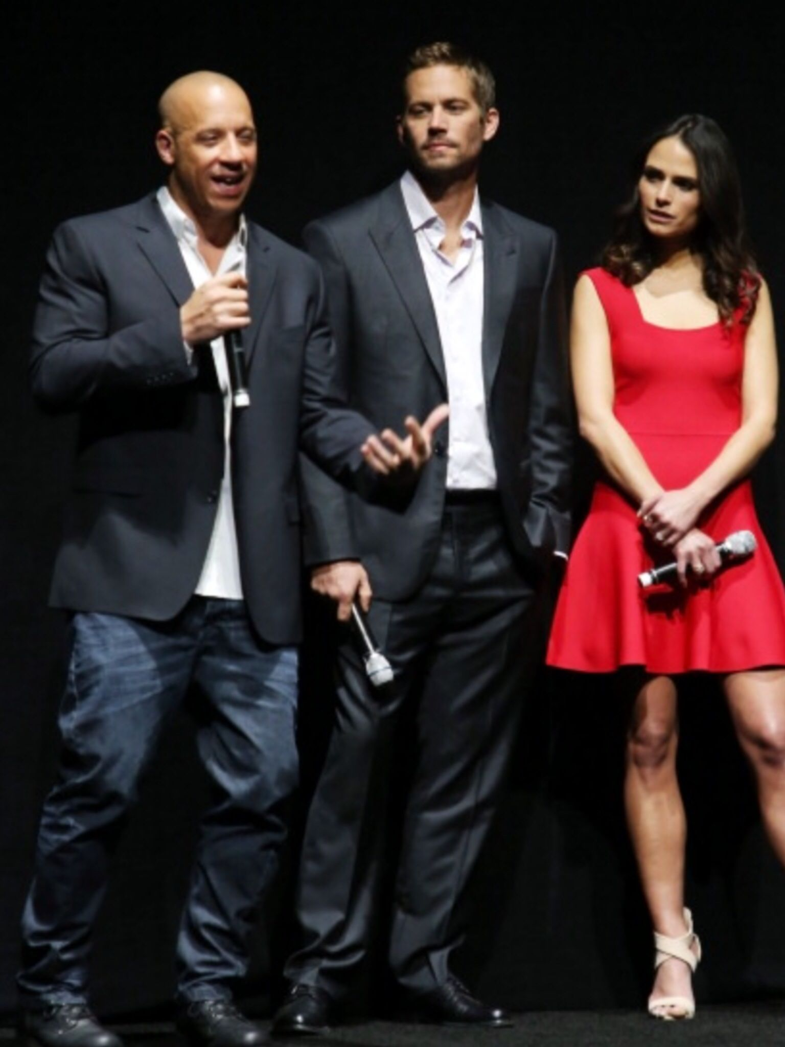 Promoting FF6 at Cinema Con in Las Vegas 16th April 2013