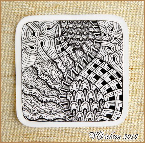 zentangle tiles 9x9 cm_zentangle pattern tangle drawing zentangles graphic pattern tangle
