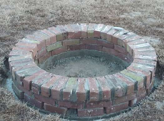 Build Your Own Fire Pit In A Weekend For Under 200 Brick Fire Pit Outside Fire Pits Fire Pit Essentials