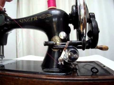 How To Wind A Singer Sewing Machine Long Bobbin And Load The Shuttle Best Dave's Sewing Machine Repairs