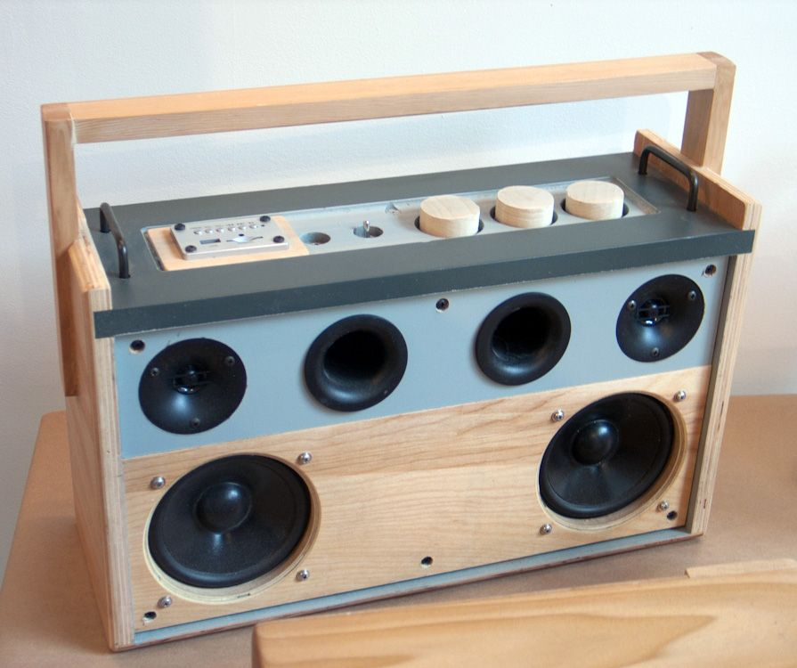 Jammy Boombox by Leaptronic | To DIY in 2019 | Diy bluetooth
