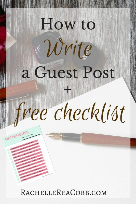 Guest Post: A Guide to Writing and Submitting to Other Blogs