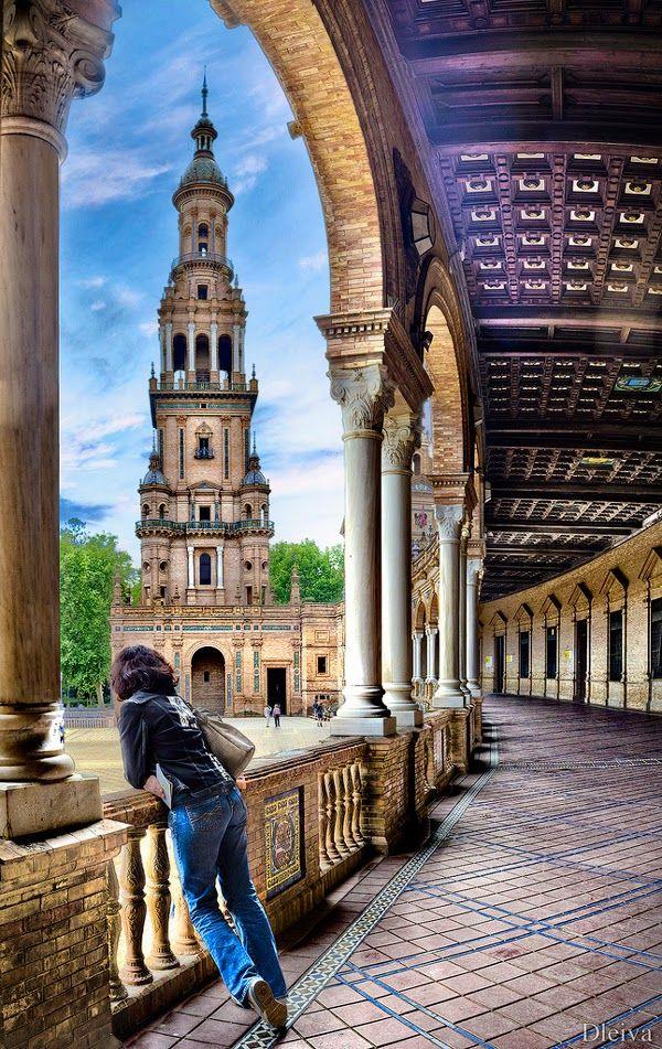 Plaza De España, Sevilla Spain | España, Viajar por españa
