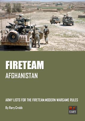 Fireteam: Modern - Afghanistan | Wargaming Rules | Army list