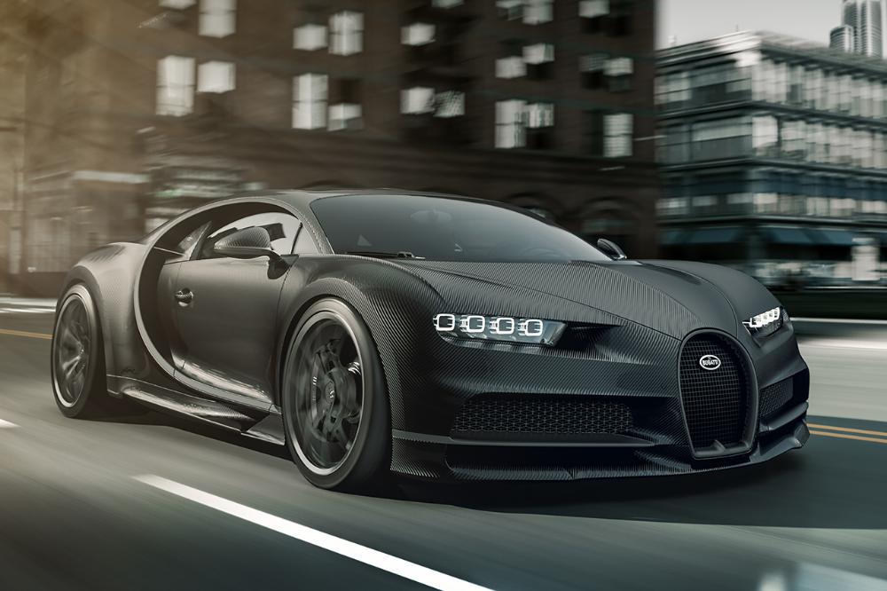 Bugatti Unveils Exposed Carbon Fiber-Clad Chiron Noire Sportive & Noire Élégance