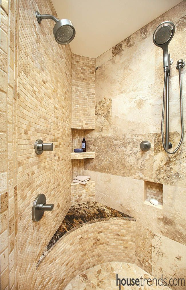 Bathroom remodeling ideas offer a fresh start | Curved walls ...