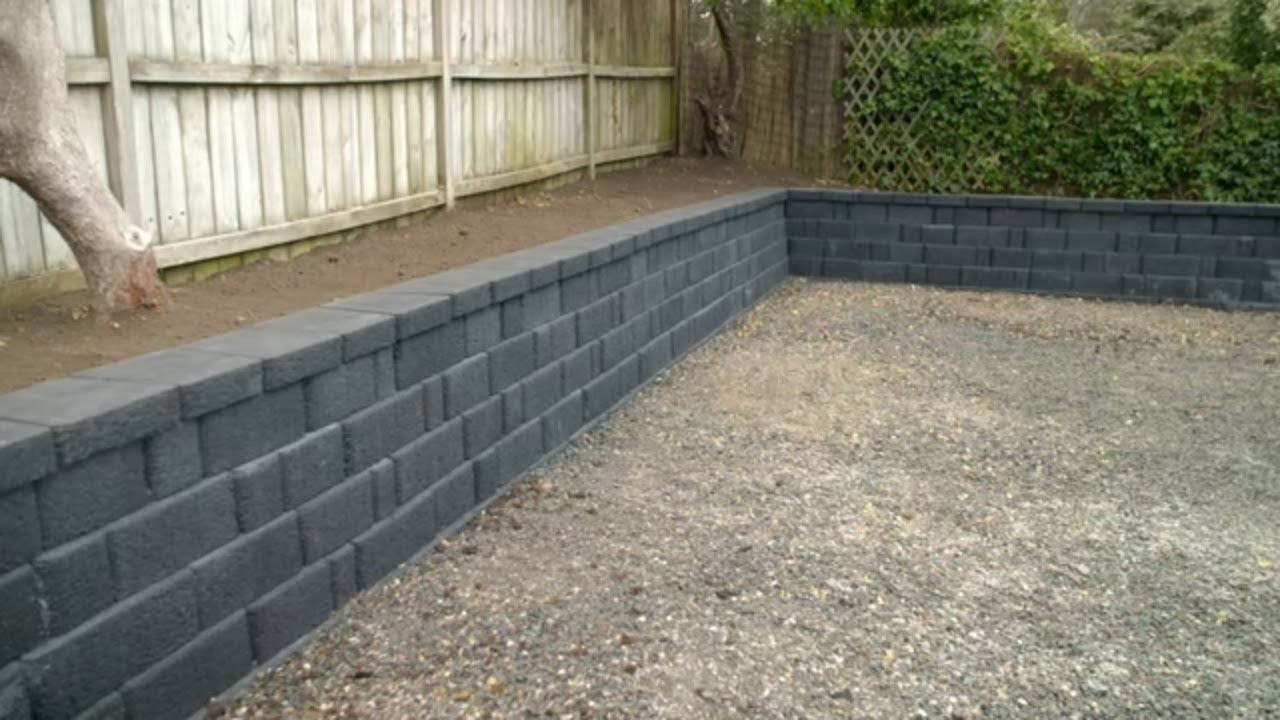 how to build a block retaining wall mitre 10 easy as diy on retaining wall blocks id=49662