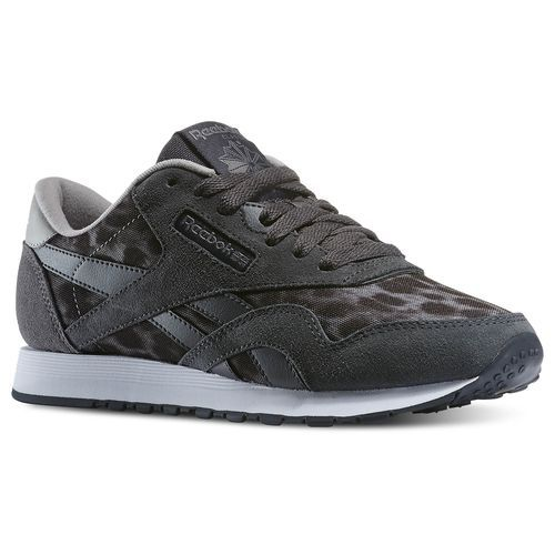 Reebok Nylon Wild Leopard Grey | Shoes
