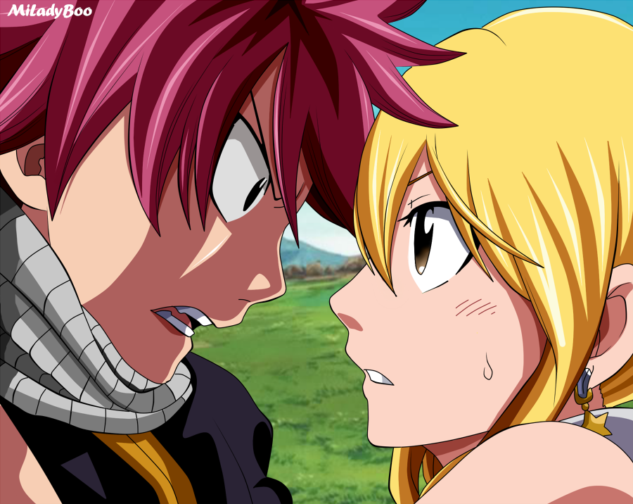 Image C Hiro Mashima Color By Miladyboo Hope You Like It You Can Download For 10 Natsu And Lucy Natsu Fairy Tail Ships