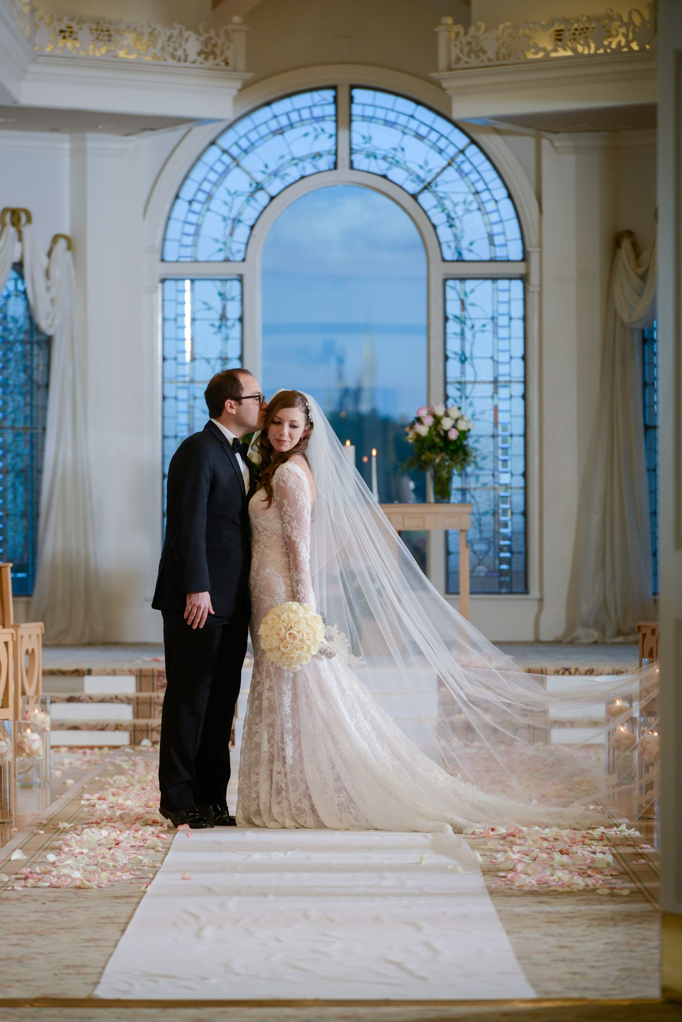 Jackie Michaels Beautiful Portrait At Disneys Wedding Pavilion After Their Escape Collection Ceremony