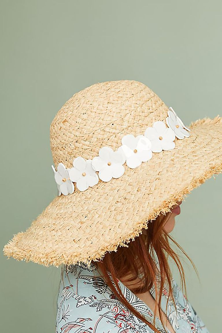 9de73308ca820 A little daisy trip makes this straw hat ready for spring.  party   inspiration  gifts  shopping  love