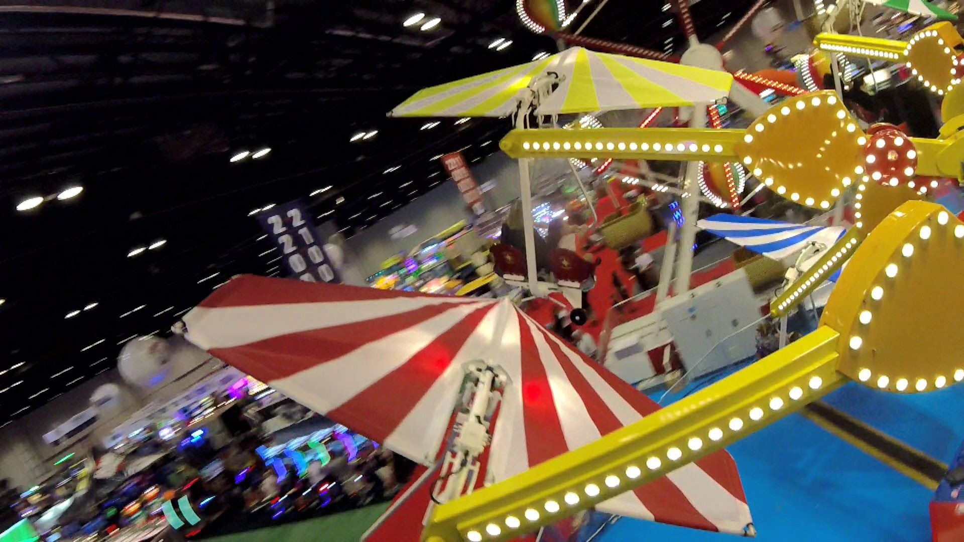Windstarz at IAAPA on-ride HD POV @60fps Zamperla