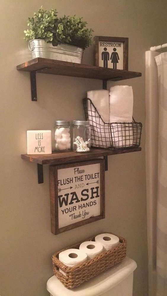 12 Stylish & Functional Bathroom Decor Ideas | The Unlikely Hostess