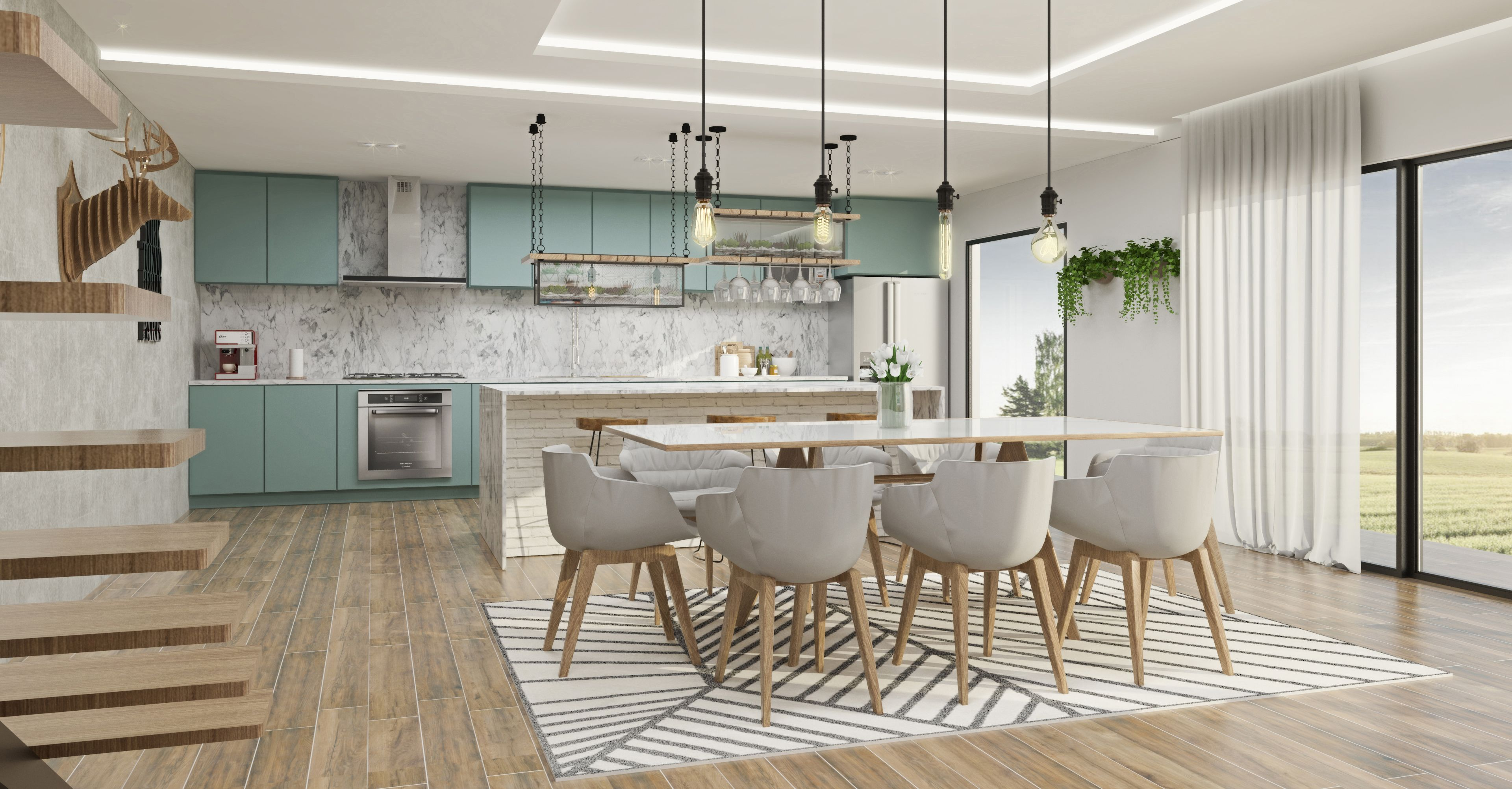 Produce Realistic And Detailled Interior Design Renders With