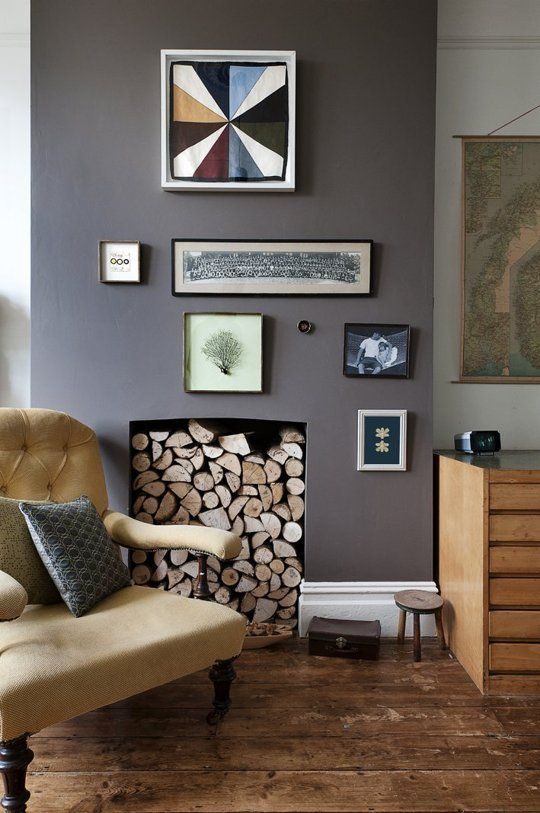 10 frugal ways to welcome fall bilderwand wandgestaltung und wandfarbe. Black Bedroom Furniture Sets. Home Design Ideas