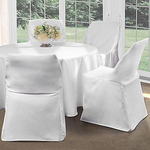 Brilliant Folding Chair Covers 12 99 Bed Bath Beyond I Theyellowbook Wood Chair Design Ideas Theyellowbookinfo