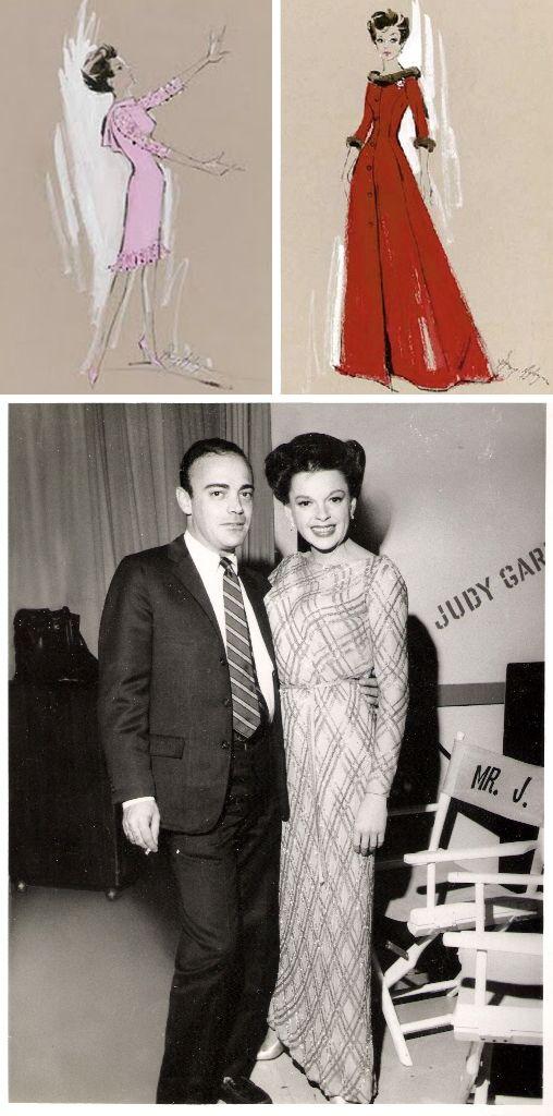 Judy Garland with costume designer Ray Aghayan, The Judy Garland ...